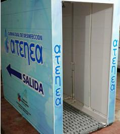 Mañana será instalada una de las cabinas más innovadoras en prevención Covid-19 en el Hospital Universitario