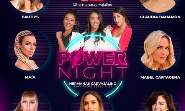 Power Night: Noche de empoderamiento femenino virtual
