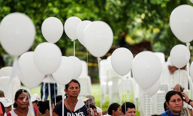 Conmemoración a las víctimas del conflicto armado