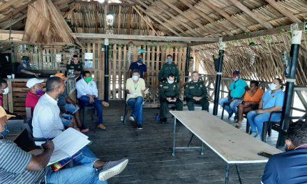 Corregimiento de La Boquilla y Policía Metropolitana se unen para trabajar contra Covid-19