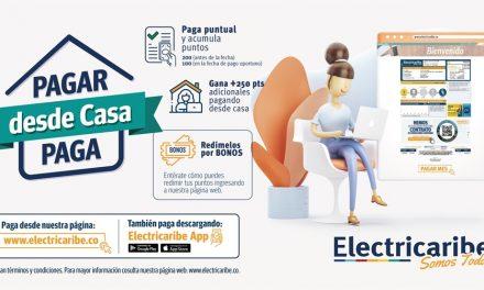 """""""Pagar desde Casa Paga"""" es el programa de Electricaribe que promueve el pago virtual de facturas"""