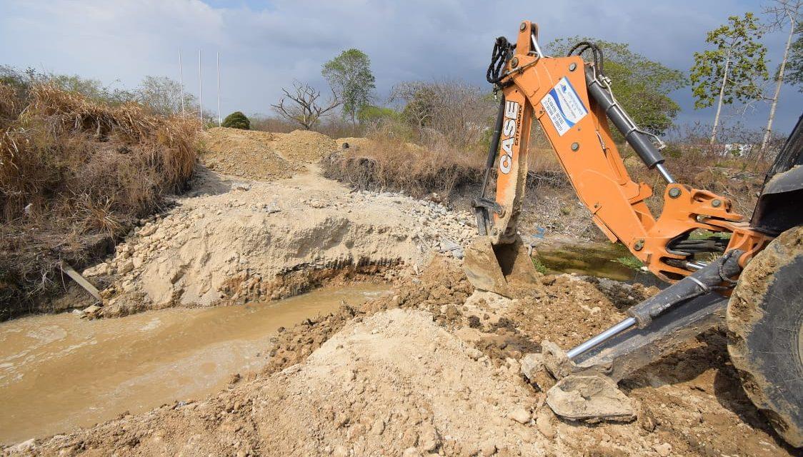 Epa Cartagena ordena remover infraestructura que impide el flujo de aguas del arroyo Matute