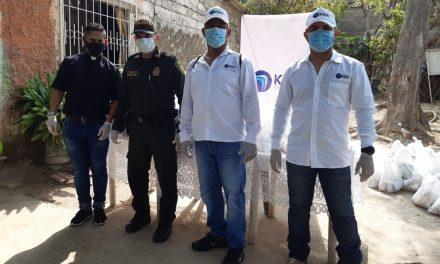 KMA Construcciones inició campaña de donación de  mercados en Cartagena