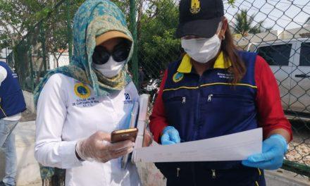 Barrio El Pozón recibe ayuda por parte del distrito