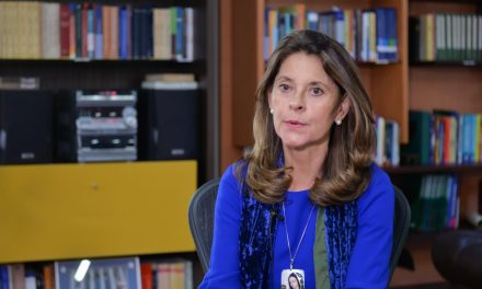 Vicepresidenta de Colombia de pronuncia sobre reactivación económica