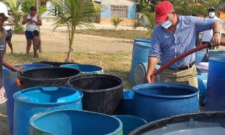 230 recorridos en carrotanques para abastecimiento de agua a comunidades en Cartagena