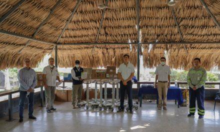 Tenaris dona equipos médicos y bonos de mercado en Bolívar