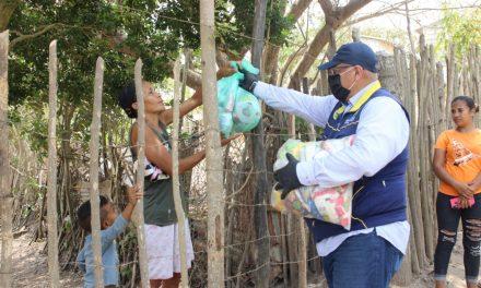 Distrito llegó a entregar más de 21.000 ayudas humanitarias