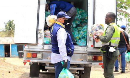Conozca la logística con ayuda humanitaria de Cartagena