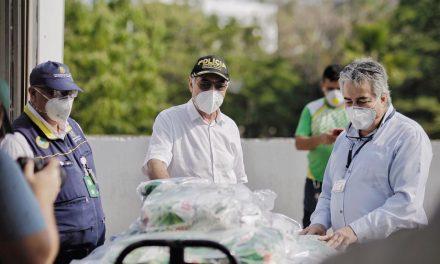 Hospitales reciben donación de elementos para limpieza y desinfección
