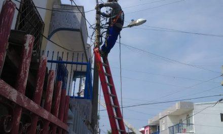 Con más operarios Electricaribe repara daños ocasionados por las lluvias