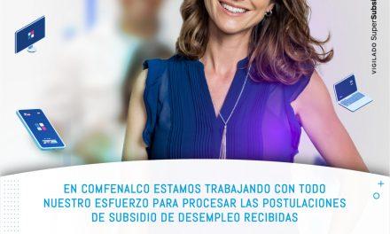 Comfenalco otorga ayuda económica de 800 millones
