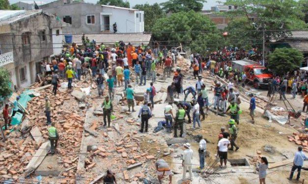 Tres años del desplome del edificio Portales de Blas de Lezo
