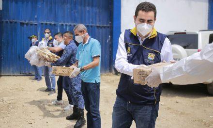 Gobernador de Bolívar entrega elementos de Bioseguridad en Cárceles de Cartagena