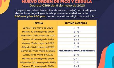 Propuesta ganadora de Pico y Cédula en Cartagena a partir del 11 de mayo