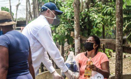 Bayunca recibe ayuda humanitaria por parte de la Alcaldía Local 2