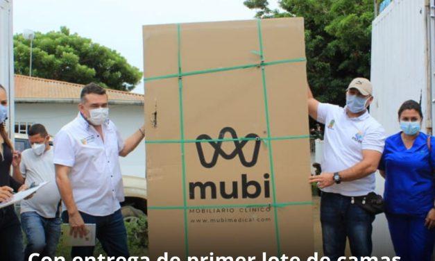 Se entregan camas de hospitalización a varios municipios de Bolívar