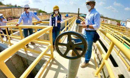 Avanza el tratamiento de agua potable en Pasacaballos