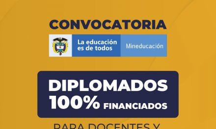 SED invita a docentes a participar en convocatoria para cursar diplomados, especializaciones, maestrías y doctorados