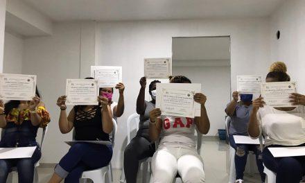 Internas de la Cárcel Distrital se capacitan en Salud Mental