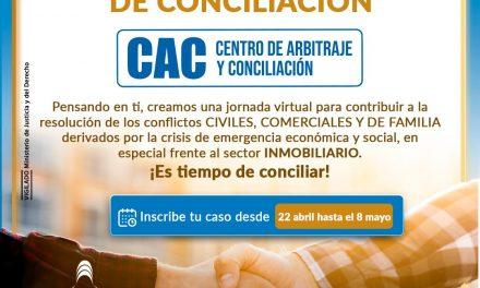Hasta mañana 8 de mayo jornada gratuita de conciliación de la Cámara de Comercio