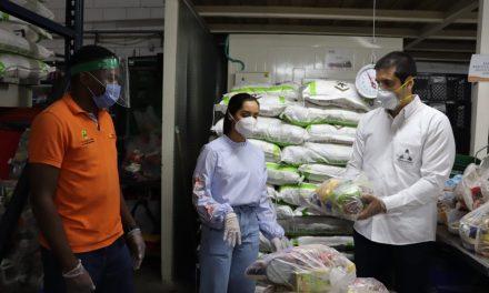 Se entregan 170 mercados al Banco de Alimentos