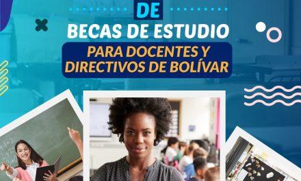 Convocatoria de becas para docentes de Bolívar