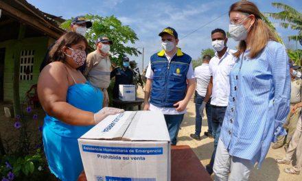 Ayudas humanitarias en Santa Rosa de Lima