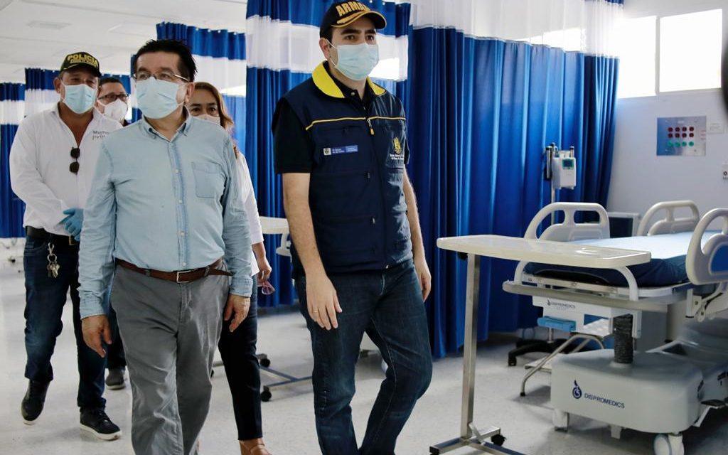 Abre el nuevo hospital San Juan de Dios en Mompox