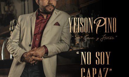 """""""No soy capaz"""": nueva apuesta musical de Yeison Pino"""