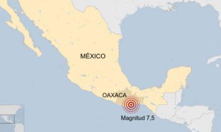 El sureste de México es sacudido por un sismo de 7,5