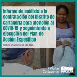 Seguimiento de contrataciones de la Alcaldía durante la emergencia sanitaria