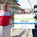 Aguas de Cartagena entregó mercados a usuarios 'buena paga'