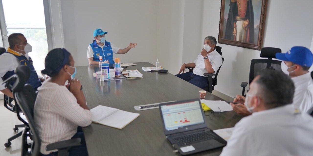 Gobernador Blel garantiza continuidades de contratos a deportistas y entrenadores