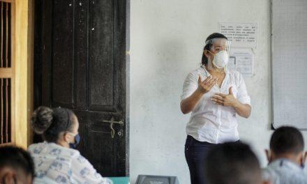 Líderes y lideresas se capacitan para prevenir el Coronavirus en barrios de Cartagena