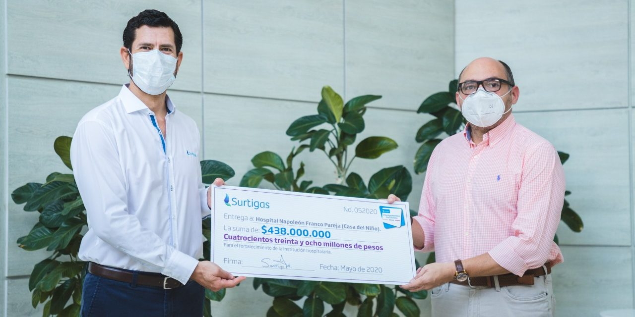 Casa del Niño recibe donación de 438 millones