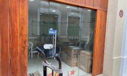 Preocupante lista de negocios cerrados en el Centro Histórico