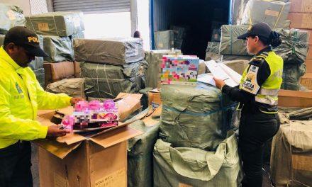 Incautan juguetes ilegales en Cartagena