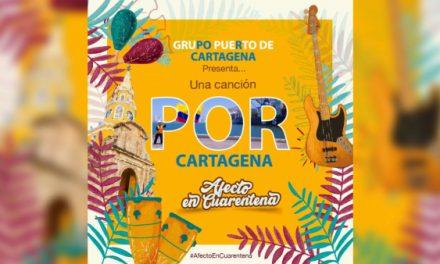 """""""Afecto en cuarentena"""" la champeta con la que el Grupo Puerto de Cartagena inicia campaña de pedagogía social para enfrentar el coronavirus"""