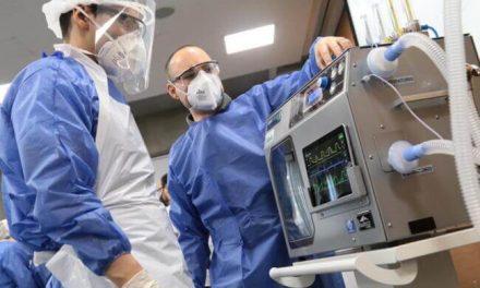 Llegan a Cartagena ventiladores mecánicos para pacientes en UCI