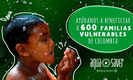Aqua Savers, una comunidad que trabaja por salvar 33 millones de litros de agua