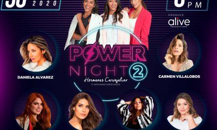 """Vuelve el evento virtual """"Power Night"""" en su segunda versión"""