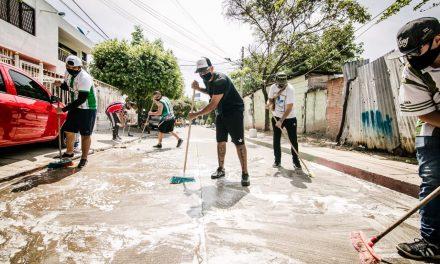 Barristas de equipos se suma a Barrio Heróico