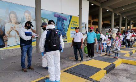 DADIS realiza revisión a corredor humanitario de migrantes venezolanos en la Terminal de Transportes