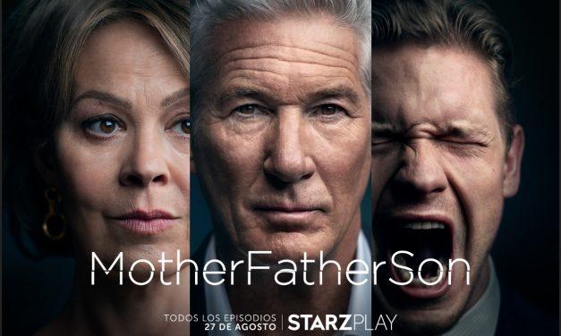 """""""MotherFatherSon"""", la serie de Richard Gere estará disponible en agosto en StarzPlay"""