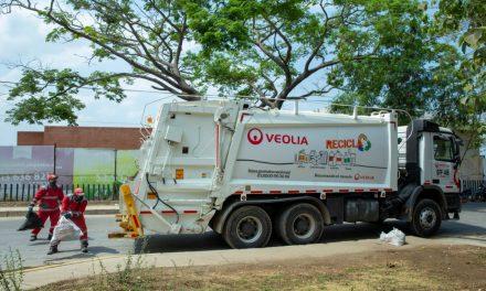 Con valentía operarios de Veolia continúan ofreciendo los servicios esenciales de aseo en Cartagena
