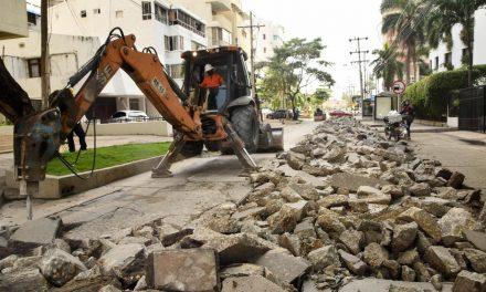 Avanzan obras en vías de rutas Transcaribe