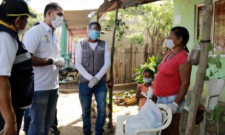 Gobernación de Bolívar entrega ayudas humanitarias