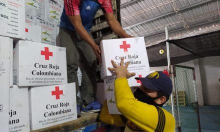 Más de 2 mil ayudas humanitarias para Cartagena