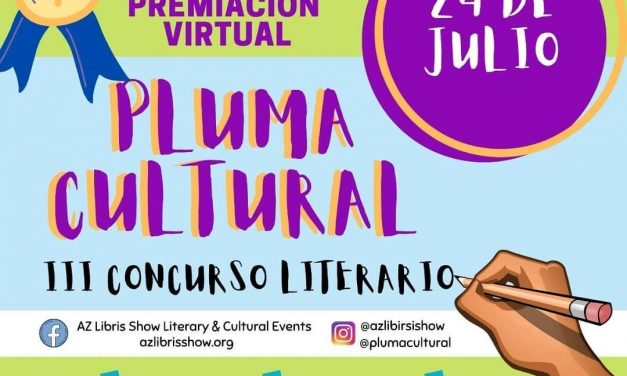 Premiación virtual del concurso Pluma Cultural